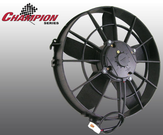 """Spal Engine Cooling Fan 30100375; Low Profile 12/"""" Single Electric"""